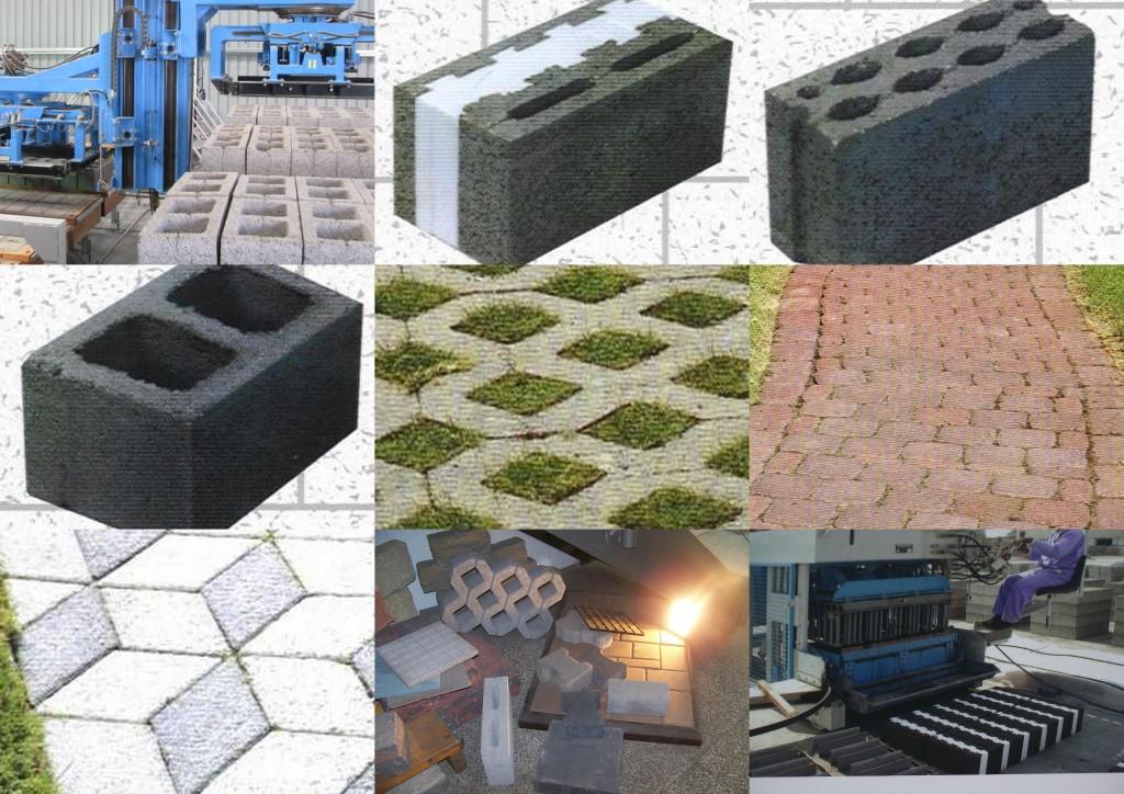 produits machine à blocs